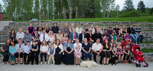 Aniridi Norge 10 år - gruppebilde 2013