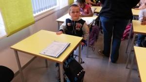 Første skoledag - klar for læring