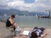 Avslapping ved Gardasjøen