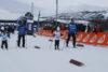 Barn og ledsagere i skisporet på Barnas Ridderuke
