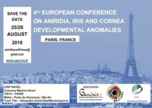 Save The Date: 4th European Conference on Aniridia